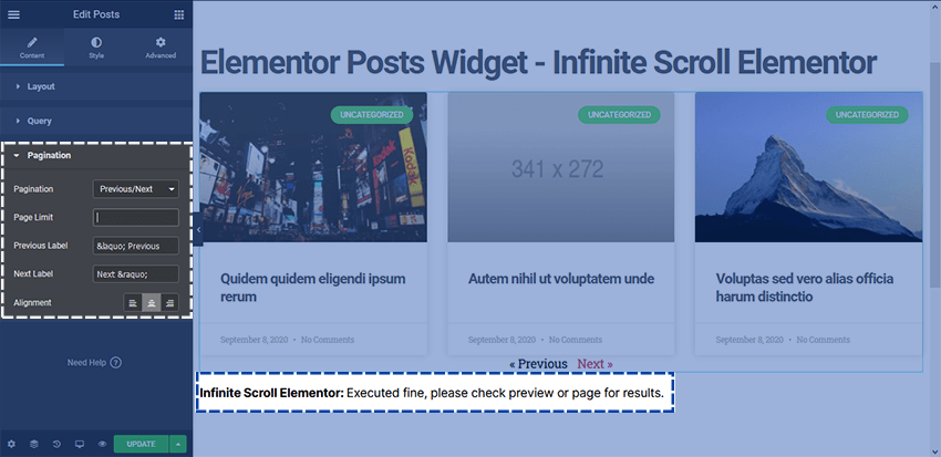 How to add Elementor Posts Infinite Scroll - Joy Chetry